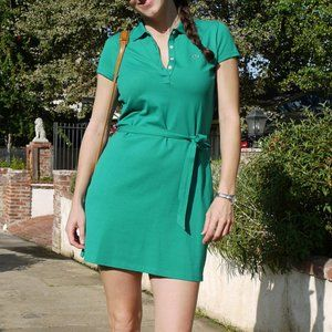 Emerald Green Women's Lacoste Dress